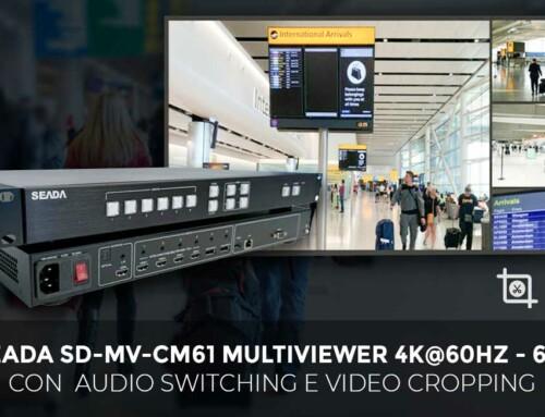 SEADA SD-MV-CM61 Multiviewer 4K@60Hz